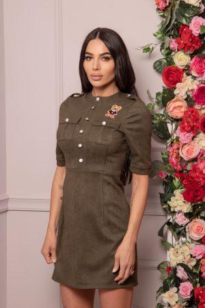 милитъри рокля